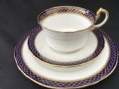 CAREWORN -  Aynsley Edwardian tea trio